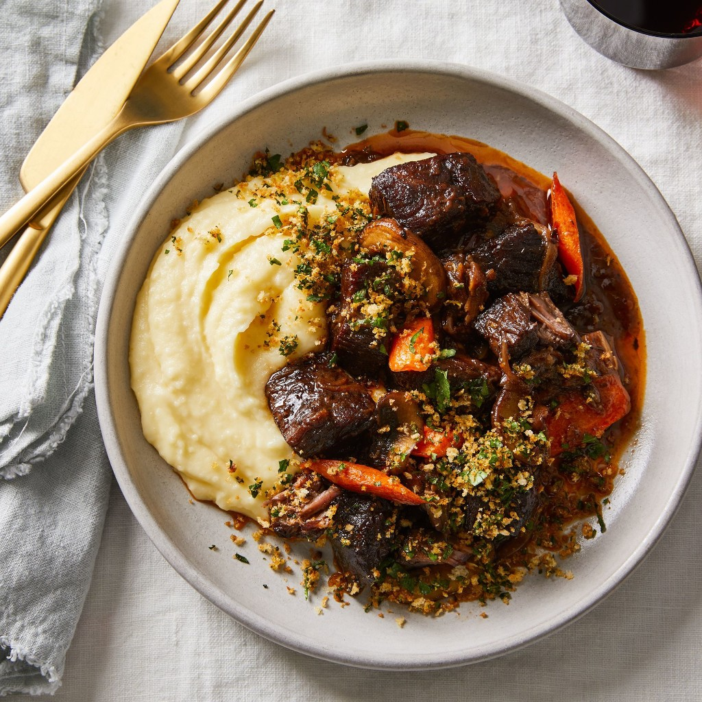 A Very Good Beef Bourguignon, Made for One