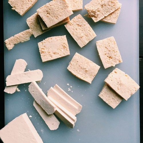 """A Pretty """"Cool"""" Shortcut for Firmer, More Flavorful Tofu"""