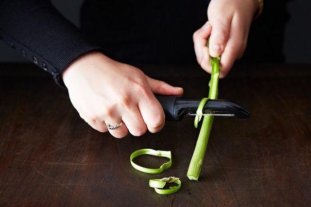 How to De-Grit Asparagus