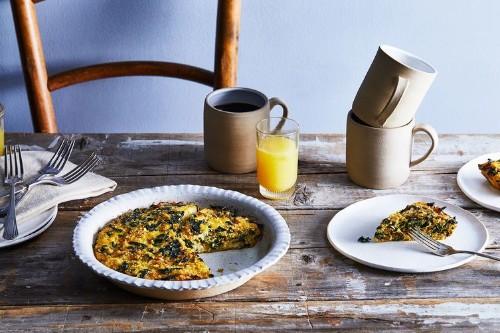 Quinoa and Kale CrustlessQuiche