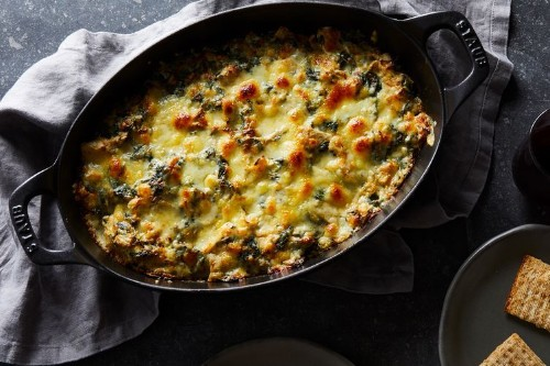 Extra-Cheesy Spinach-Artichoke Dip Recipe on Food52