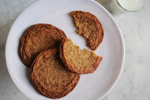 Chewy Molasses Sugar Cookie Recipe