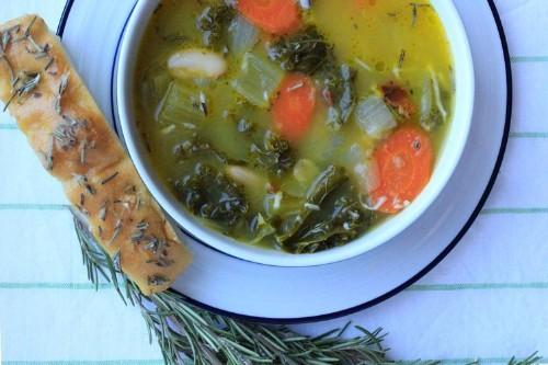 Tuscan White Bean and KaleSoup