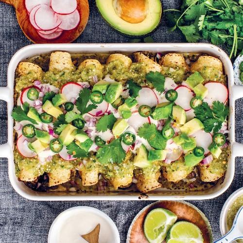 These Speedy Vegan (& Gluten-Free!) Enchiladas Are My New Summer Obsession