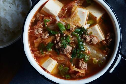 Kimchi TofuSoup
