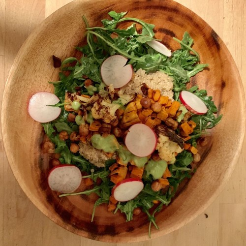 Moroccan Chickpea, Cauliflower & Sweet Potato Grain Bowl Recipe on Food52