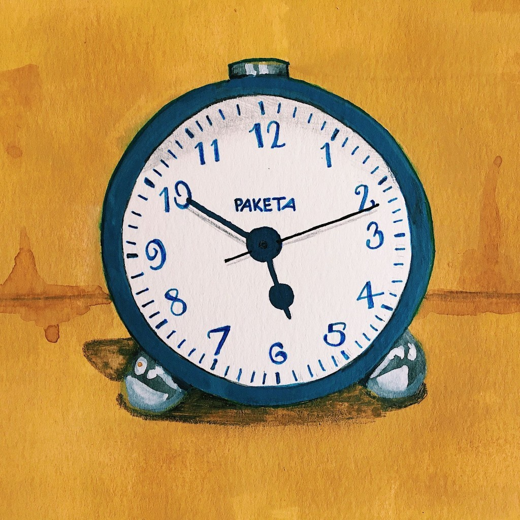 The Little Blue Alarm Clock That Turns Back Time