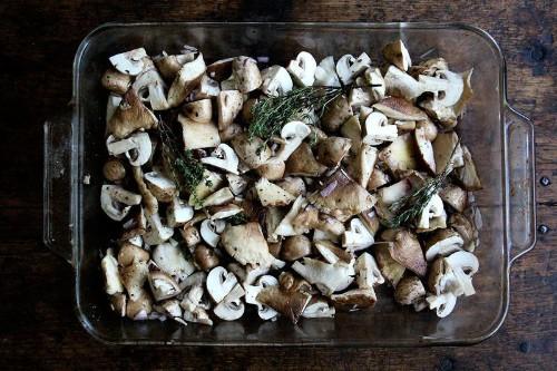A Mushroom Roasting-Method That Gives You Both Crispy Edges & RichSauce