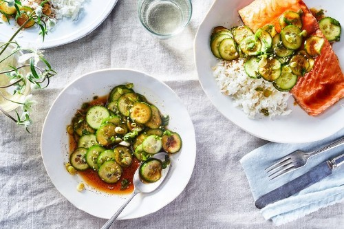 Simple Korean Cucumber Salad Recipe on Food52