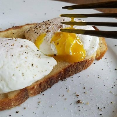 Poached Eggs - Magazine cover