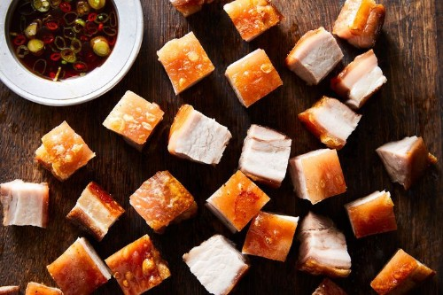 Crispy Chinese Roast Pork Belly