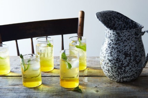 Saffron & Cardamom Lemonade Concentrate Recipe on Food52