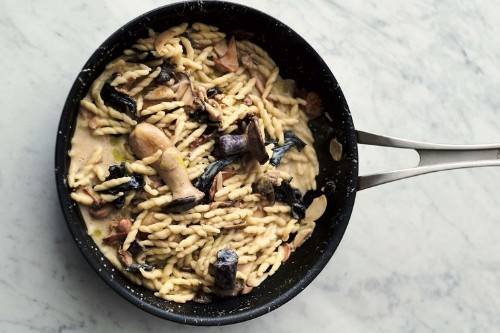 Jamie Oliver's Garlic Mushroom Pasta Recipe on Food52