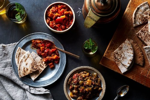 Jammy, Vibrant Moroccan Dips—One Red, OneGreen