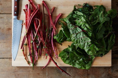 How to Cook with Chard Stems
