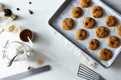 Soft Pumpkin Chocolate ChipCookies