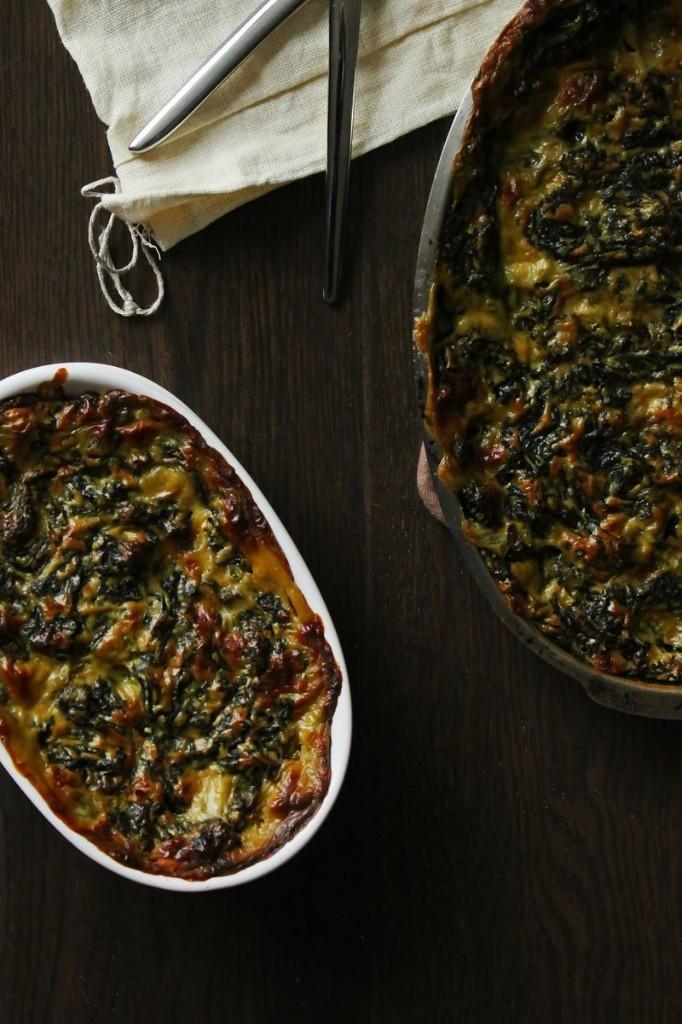 Oyster Creamed Kale