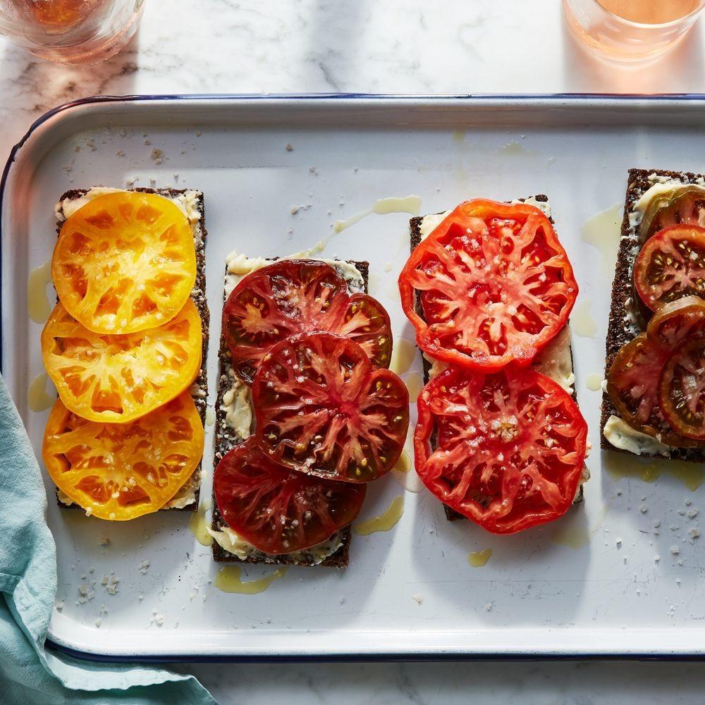 Genius Tomato Toast Recipe - How to Make Estela's Tomato Toast