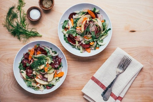 A Salad You'll Want to Eat (Even When Cookies are Everywhere)