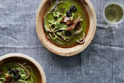 Heidi Swanson's Spicy GreenSoup