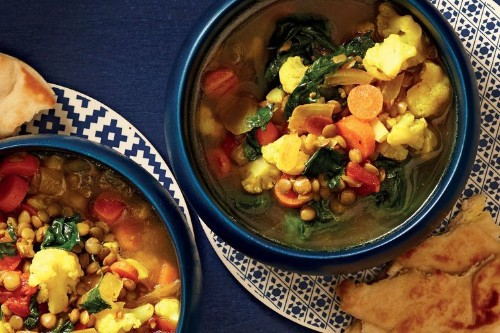 Slow-Cooker Moroccan-Spiced Lentil Soup Recipe on Food52