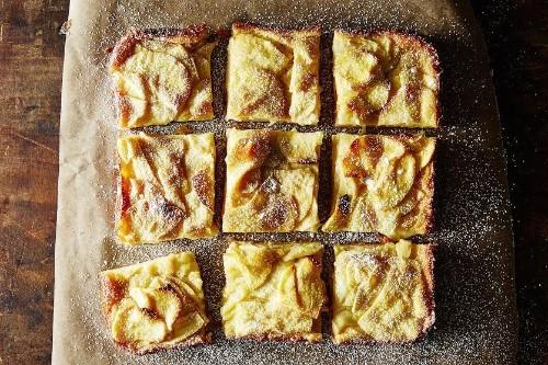 How to Make Dorie Greenspan's Custardy Apple Squares