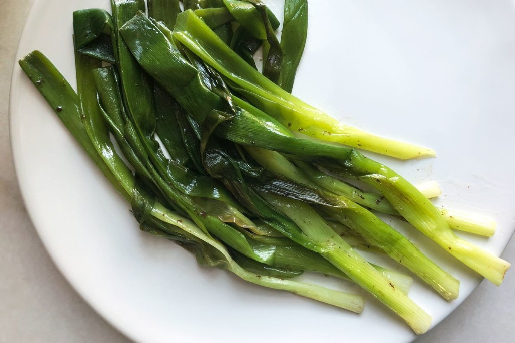 Skillet Scallions From Edna Lewis