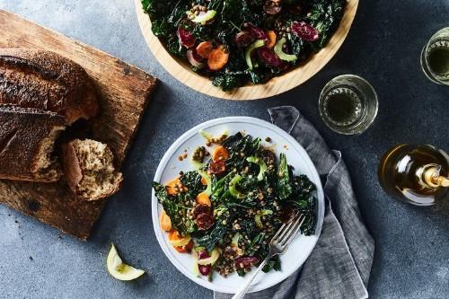 Kale, Chorizo & Lentil Salad Recipe on Food52