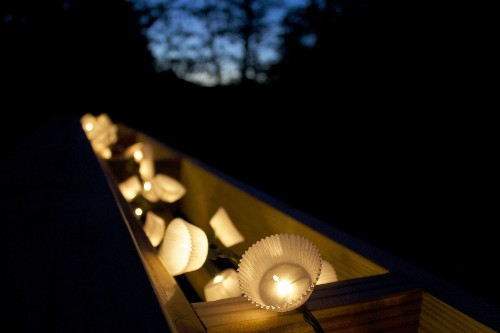 DIY String Lights for a SummerParty