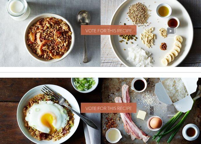 Finalists: Your Best Weekday BreakfastRecipe