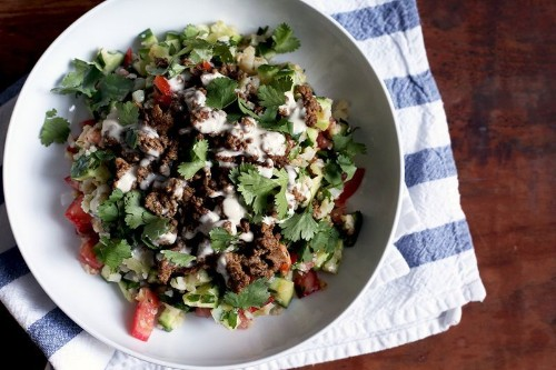 """The Deceptively Simple Lamb and """"Rice"""" Dinner You'll Make AllSummer"""
