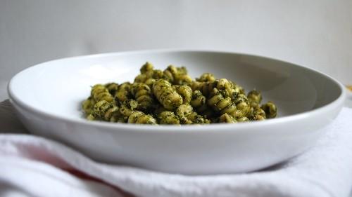 For a Better Pesto Pasta, Add Ricotta Cheese