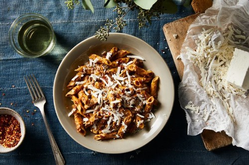 L'Artusi's Famous Mushroom Ragu With FreshGarganelli