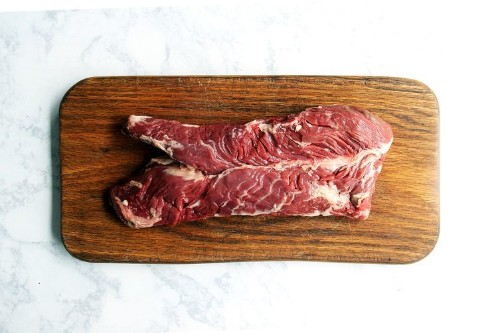 Simple Grilled Hanger Steak with Worcestershire, Garlic, and Thyme Recipe on Food52