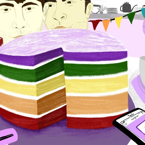 The Radical History of the Rainbow Cake