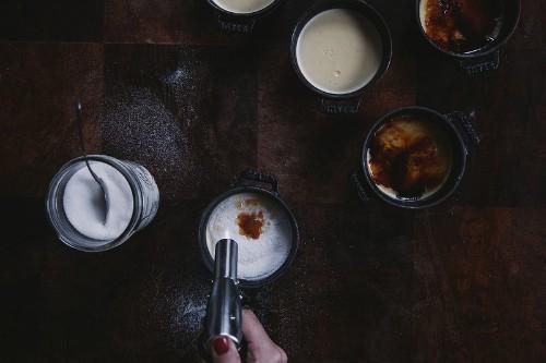 How to Make Crème Brûlée -- Cooking Techniques