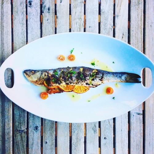 Grilled Mackerel with Salsa Verde & Oranges Recipe on Food52
