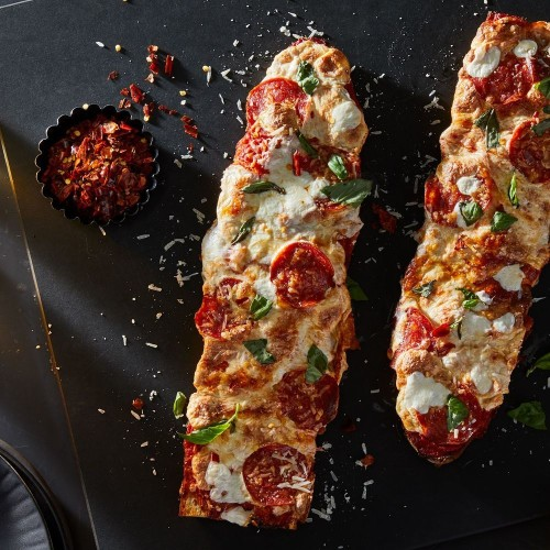 French Bread Pepperoni Pizza  Recipe on Food52