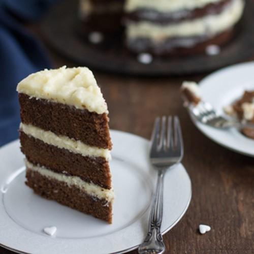 Chocolate Lemon Naked Cake Recipe on Food52