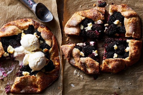 Goat Cheese Makes This Blackberry Galette a Star
