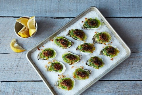 These Oysters ROCK! OystersRockefeller