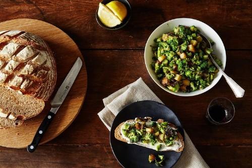 Broccoli Stems with Garlic andAnchovies