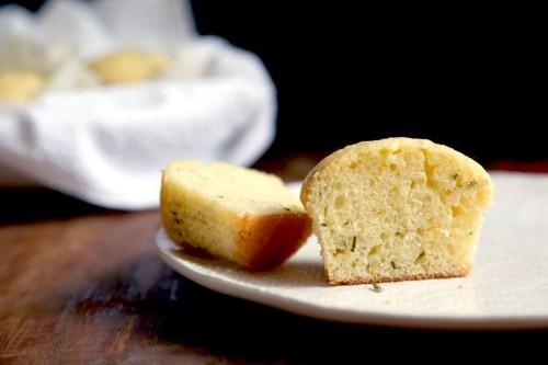 Lemon Rosemary Muffins