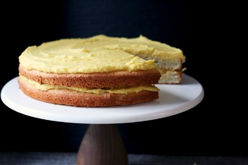A Surprisingly Simple Layer Cake, Frosted With Magic (Basically)