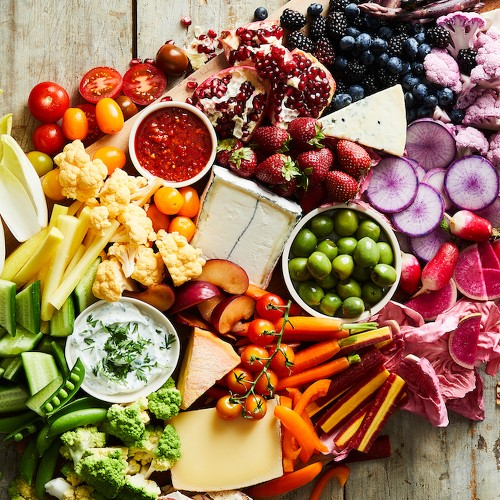 Best Party Appetizers - How to Make a Cheese Board or Cheese &Meat Plate