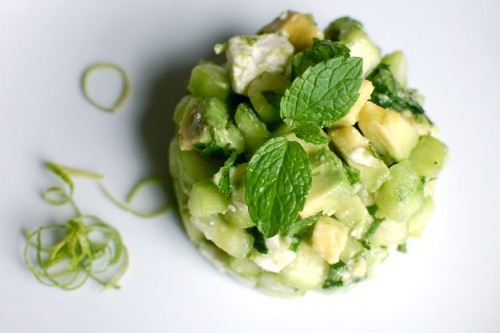 Crunchy, Creamy Cucumber-AvocadoSalad