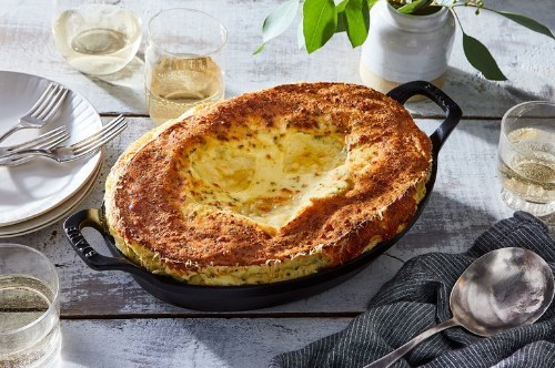 Jacques Pépin's Genius Cheese Soufflé Skips the Fussiest Step