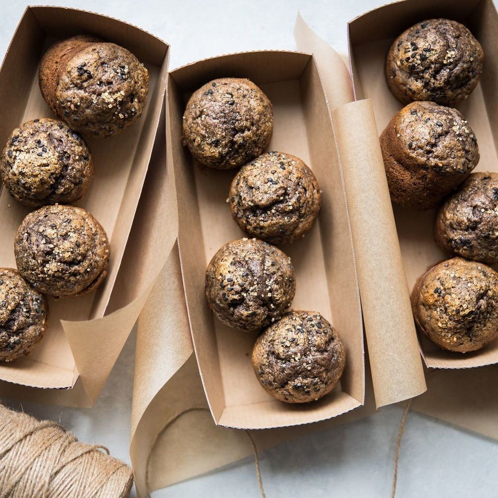 Black Sesame Banana Muffins Recipe on Food52
