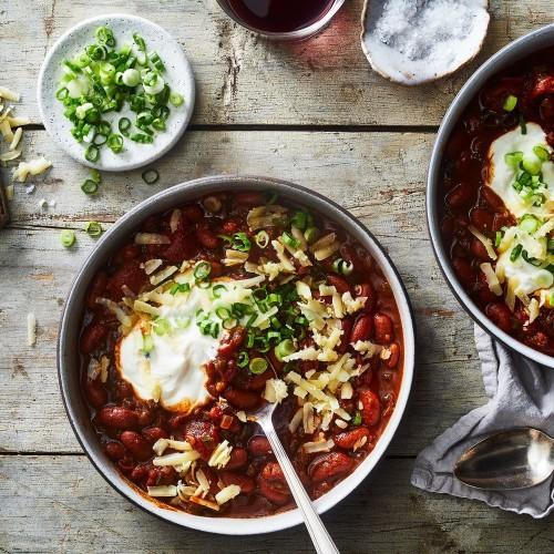 Busy Weeknight Bean Chili Recipe