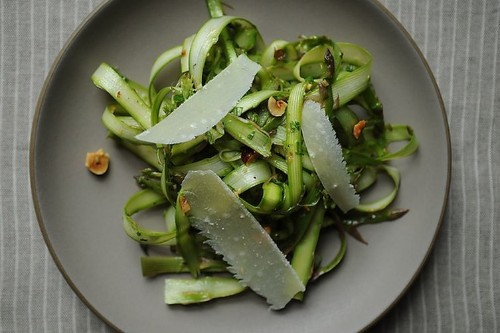 Shaved Asparagus and MintSalad
